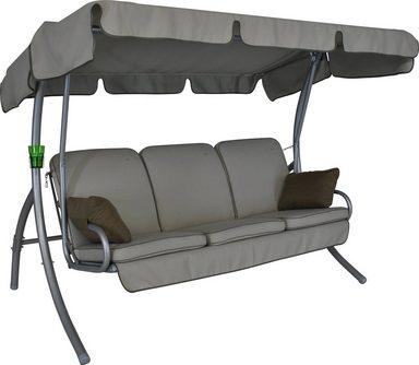 angerer freizeitm bel hollywoodschaukel comfort style 3 sitzer beige online kaufen otto. Black Bedroom Furniture Sets. Home Design Ideas