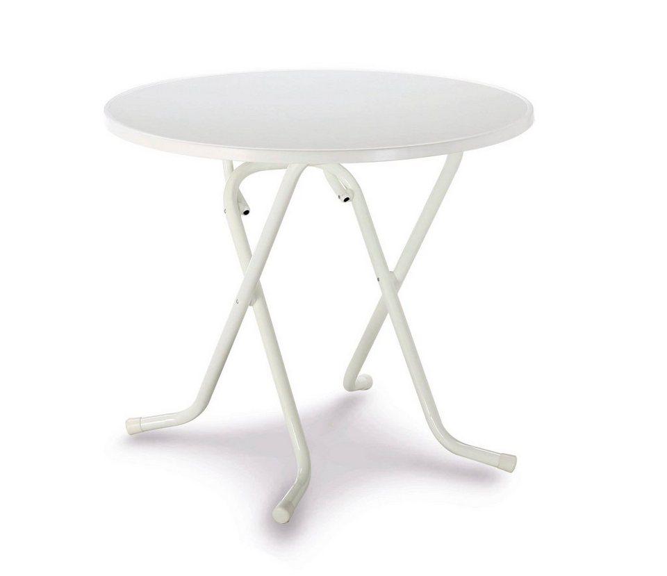 Tisch in weiß