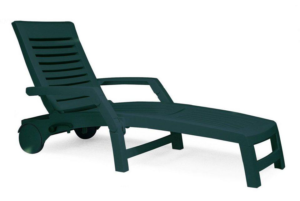 best gartenliege florida kunststoff gr n otto. Black Bedroom Furniture Sets. Home Design Ideas