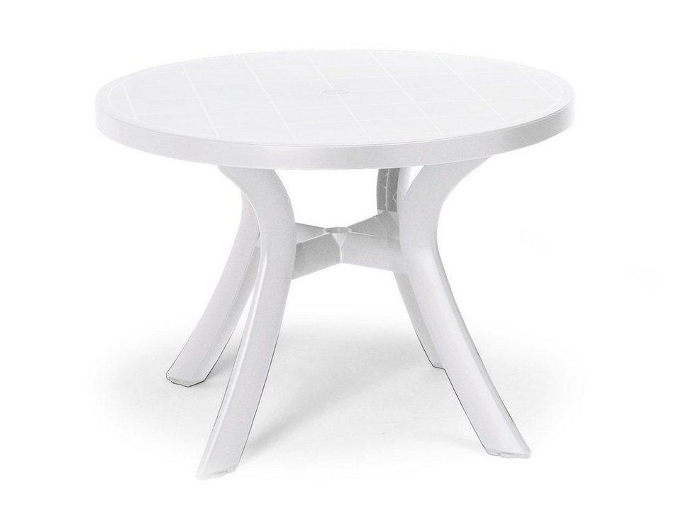 Tisch »Kansas« in weiß