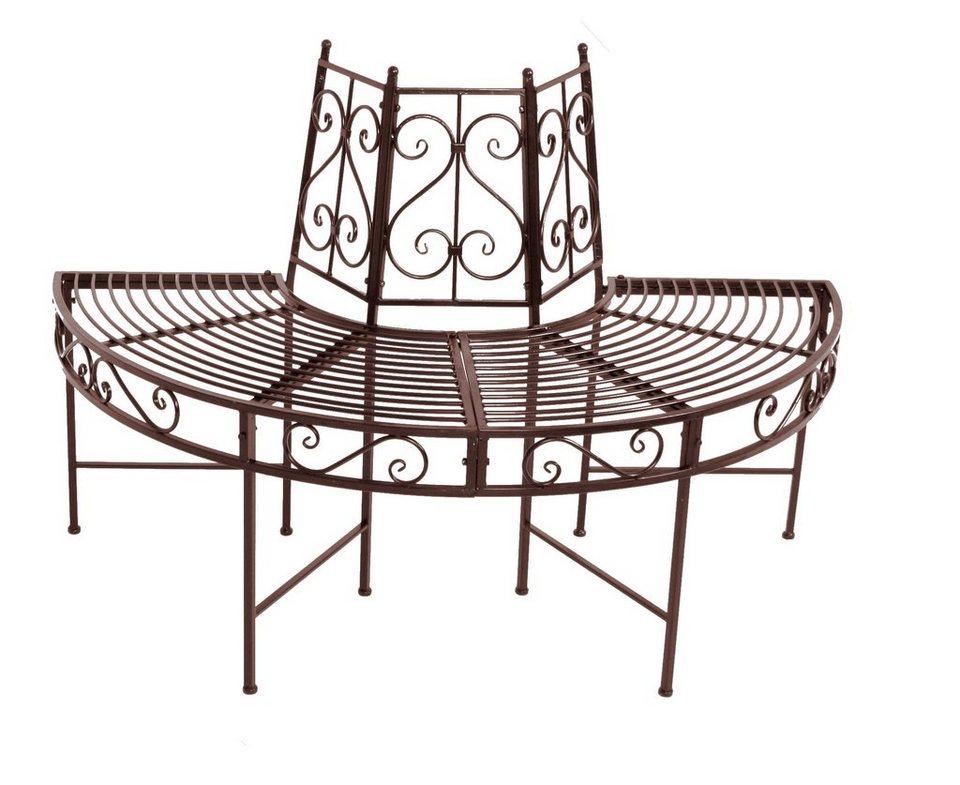 baumbank marie stahl rostfarben online kaufen otto. Black Bedroom Furniture Sets. Home Design Ideas