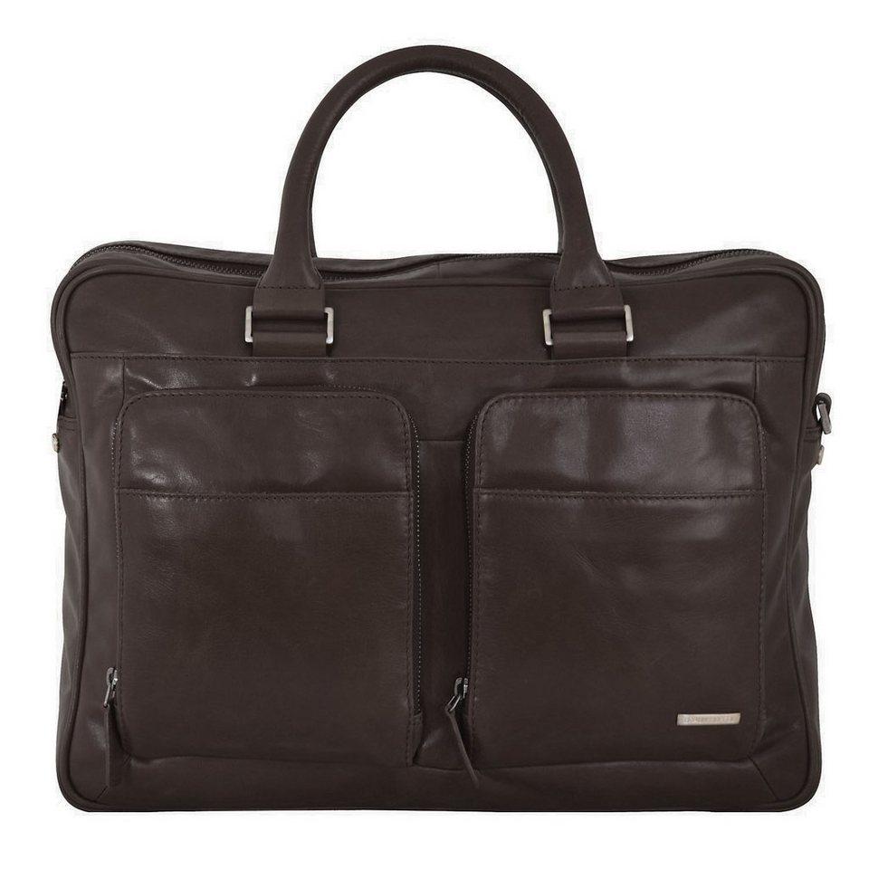 Braun Büffel Braun Büffel Texas Businesstasche Leder 41 cm Laptopfach in braun