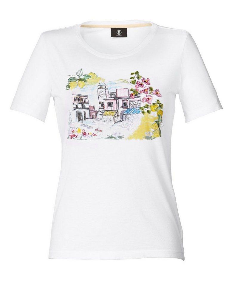 Bogner T-Shirt Celeste in Weiß
