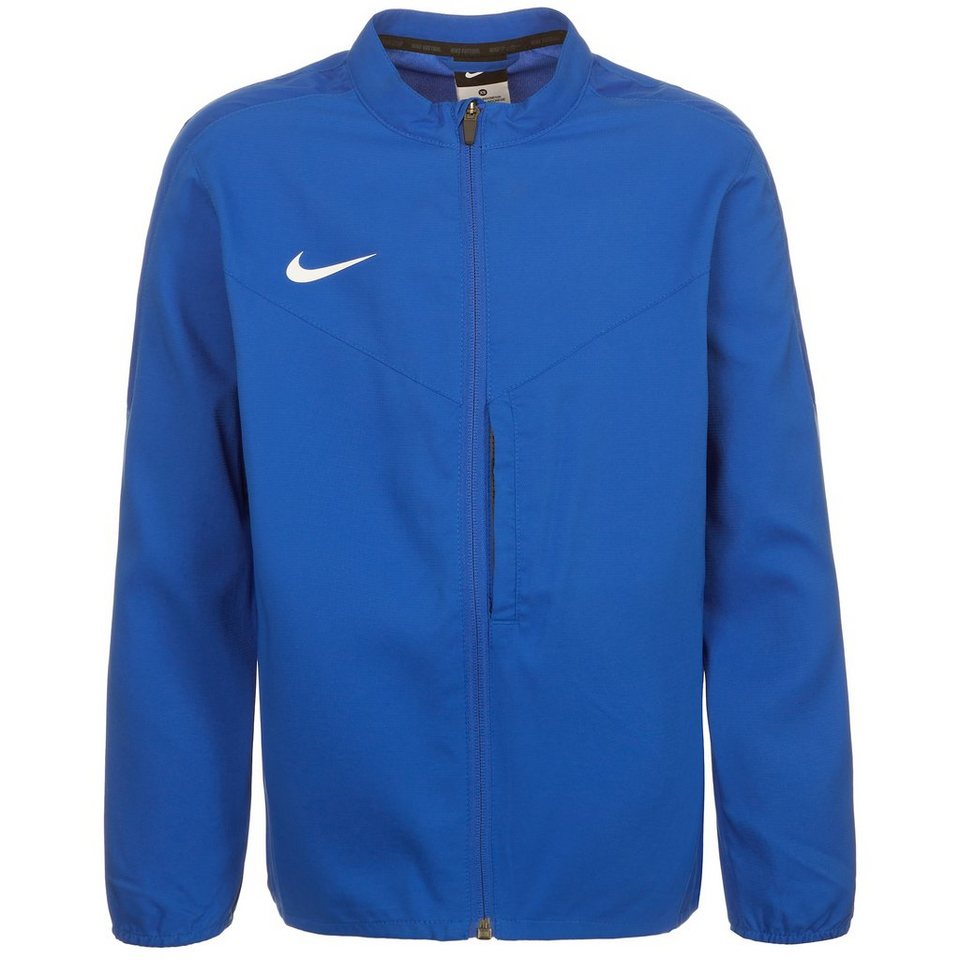 NIKE Team Club Trainingsjacke Kinder in blau / weiß