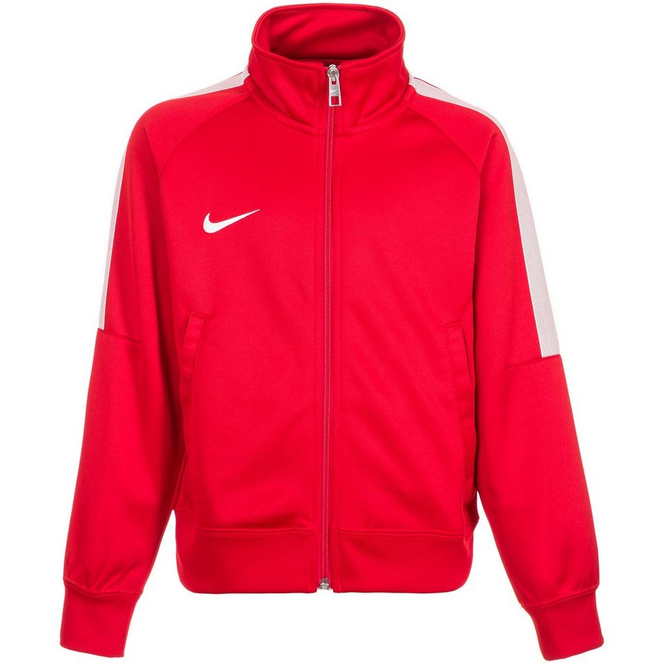 NIKE Team Club Trainingsjacke Kinder in rot / weiß