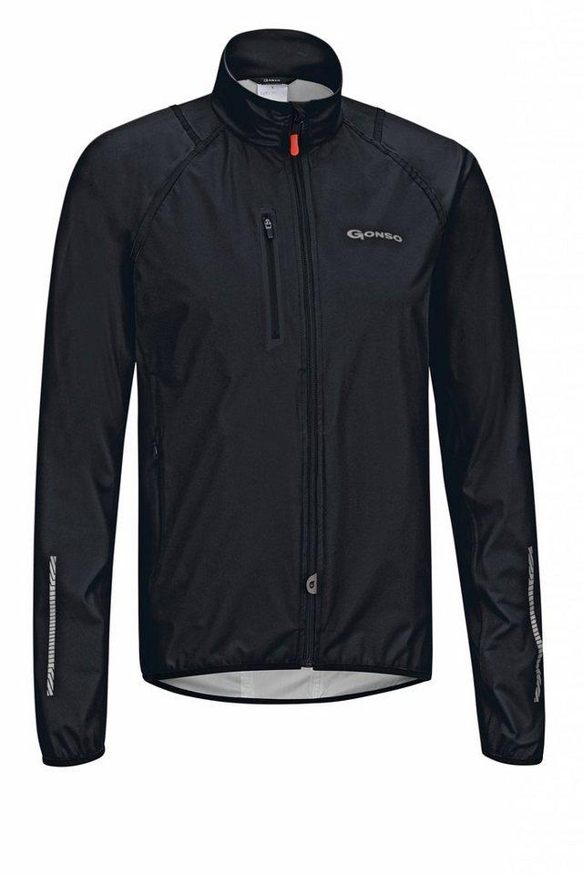 Gonso Radjacke »Bjoern V2 Active-Jacke Herren black« in schwarz