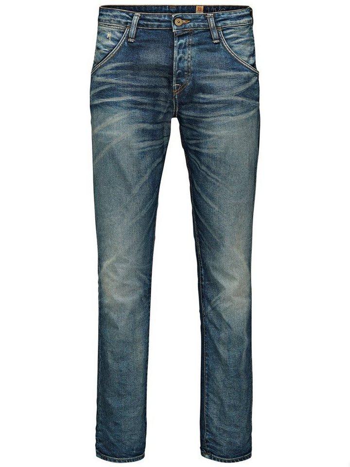 Jack & Jones Mike Spencer BL 414 Comfort Fit Jeans in Blue Denim