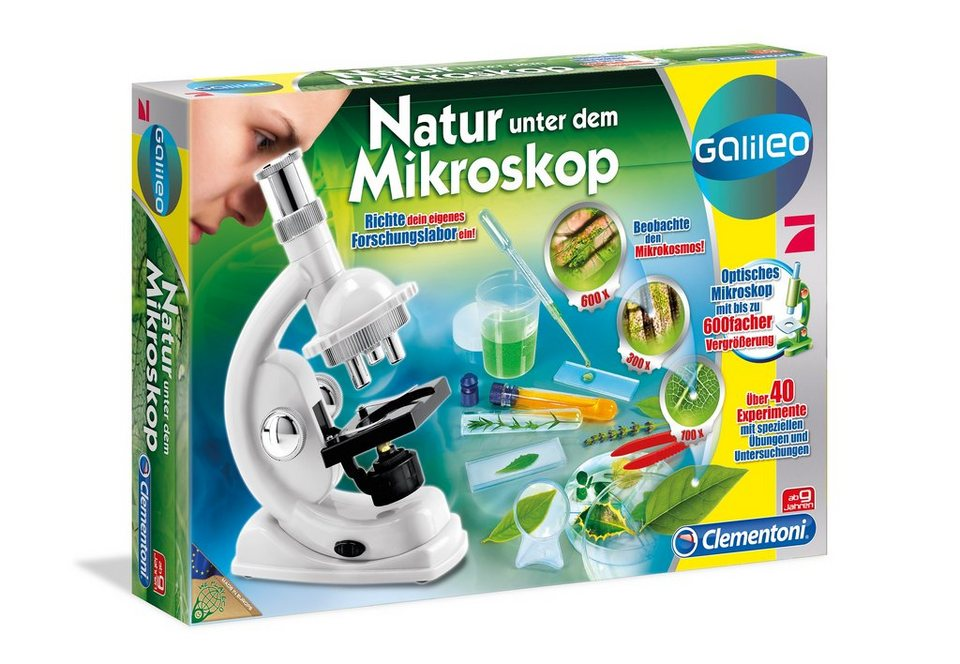 Natur unter dem Mikroskop, Clementoni®, »Galileo«