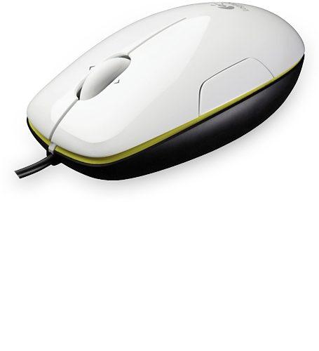 Logitech Maus »Laser Mouse M150 coconut - 910-003754«