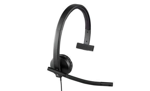 Logitech Headset »USB Headset H570e Mono - 981-000571«