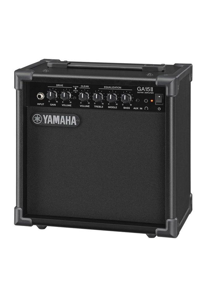 Gitarrenverstärker, »GA-15 II«, Yamaha in schwarz