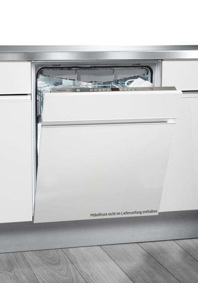 Siemens vollintegrierbarer Einbaugeschirrspüler SX65L084EU, A++, 10 l, 12 Maßgedecke in Edelstahl