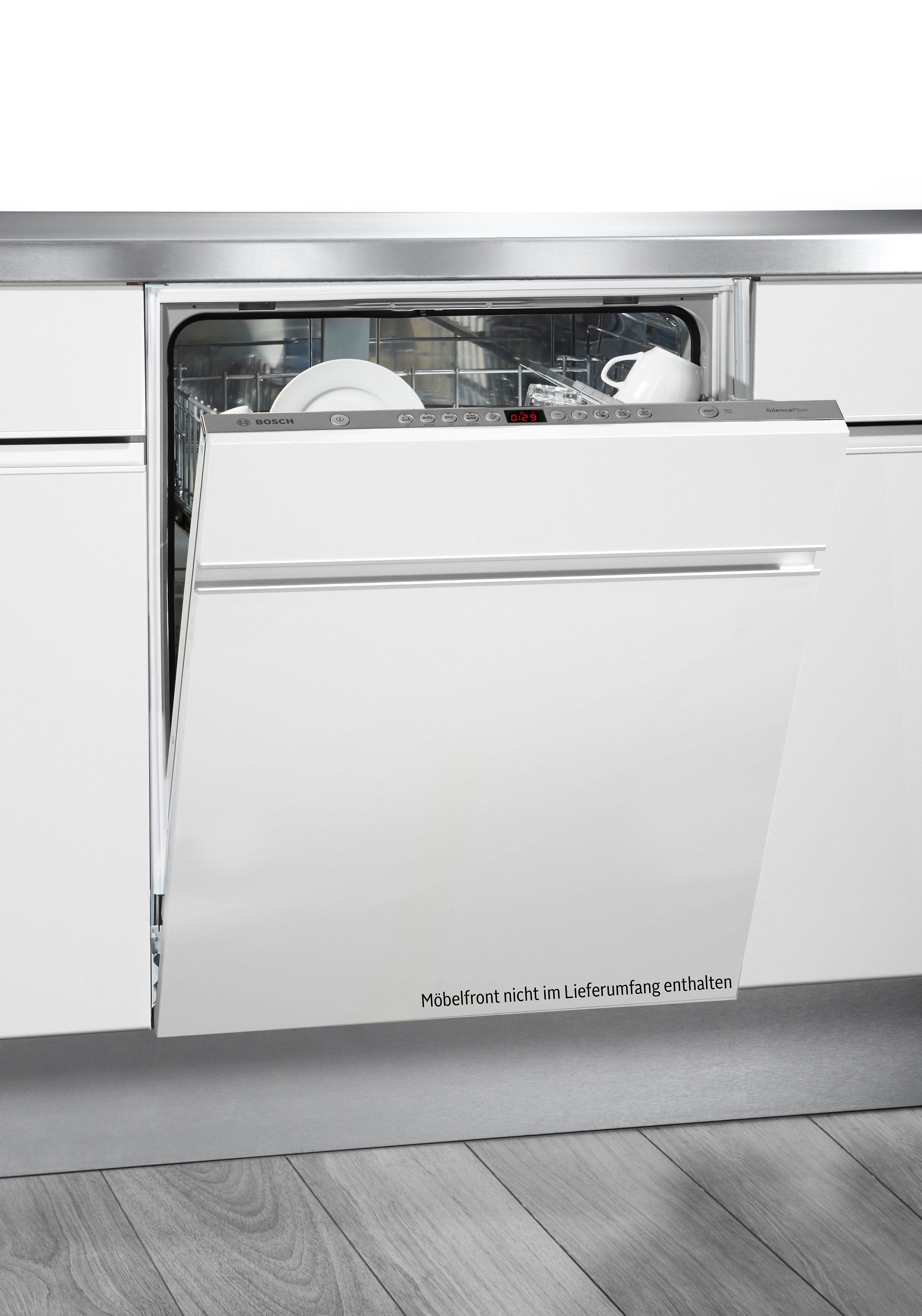 Bosch vollintegrierbarer Einbaugeschirrspüler SMV53L60EU, A++, 7,5 Liter, 12 Maßgedecke