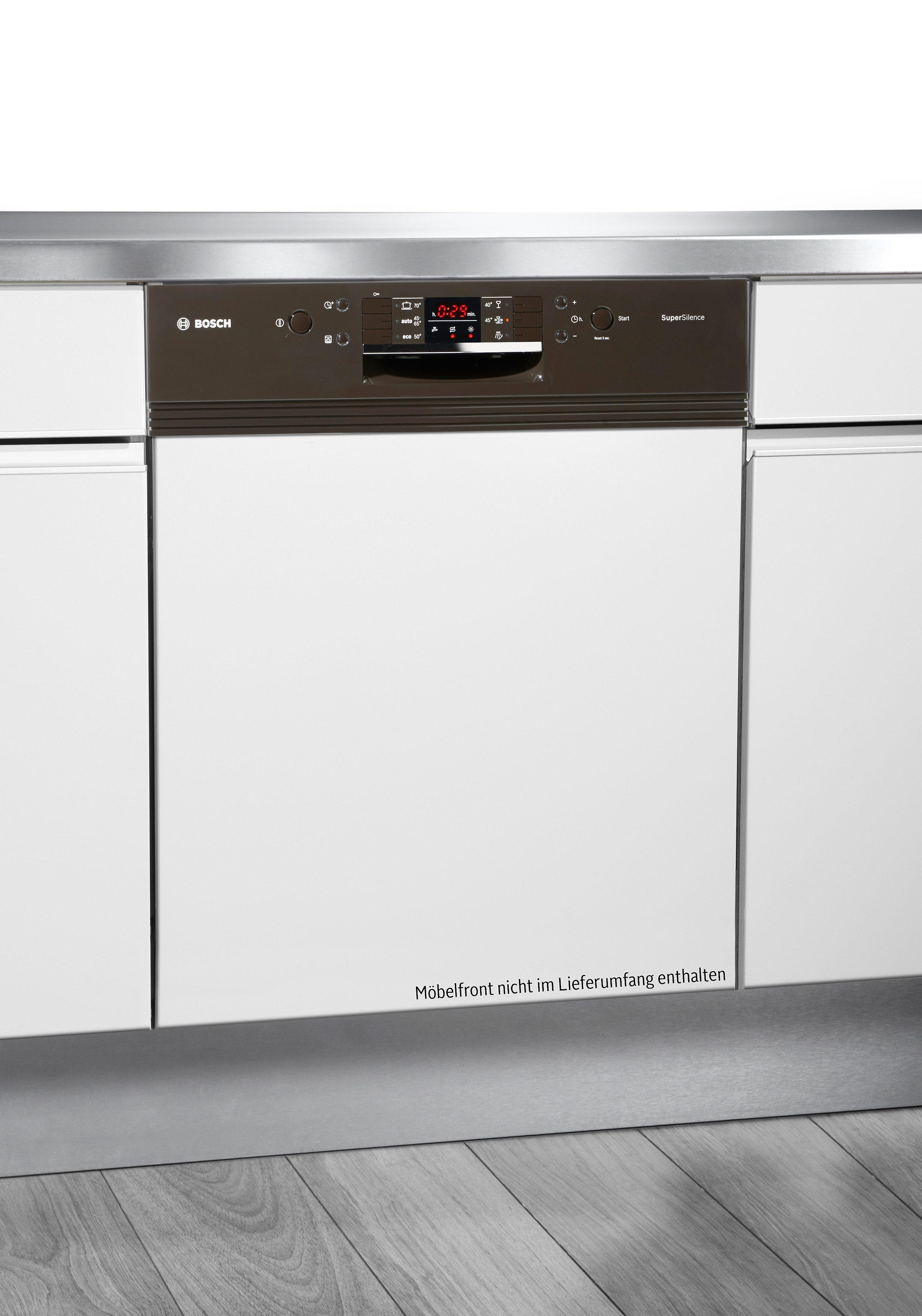 Bosch Integrierbarer Einbaugeschirrspüler SMI63N24EU, A++, 9,5 Liter, 13 Maßgedecke