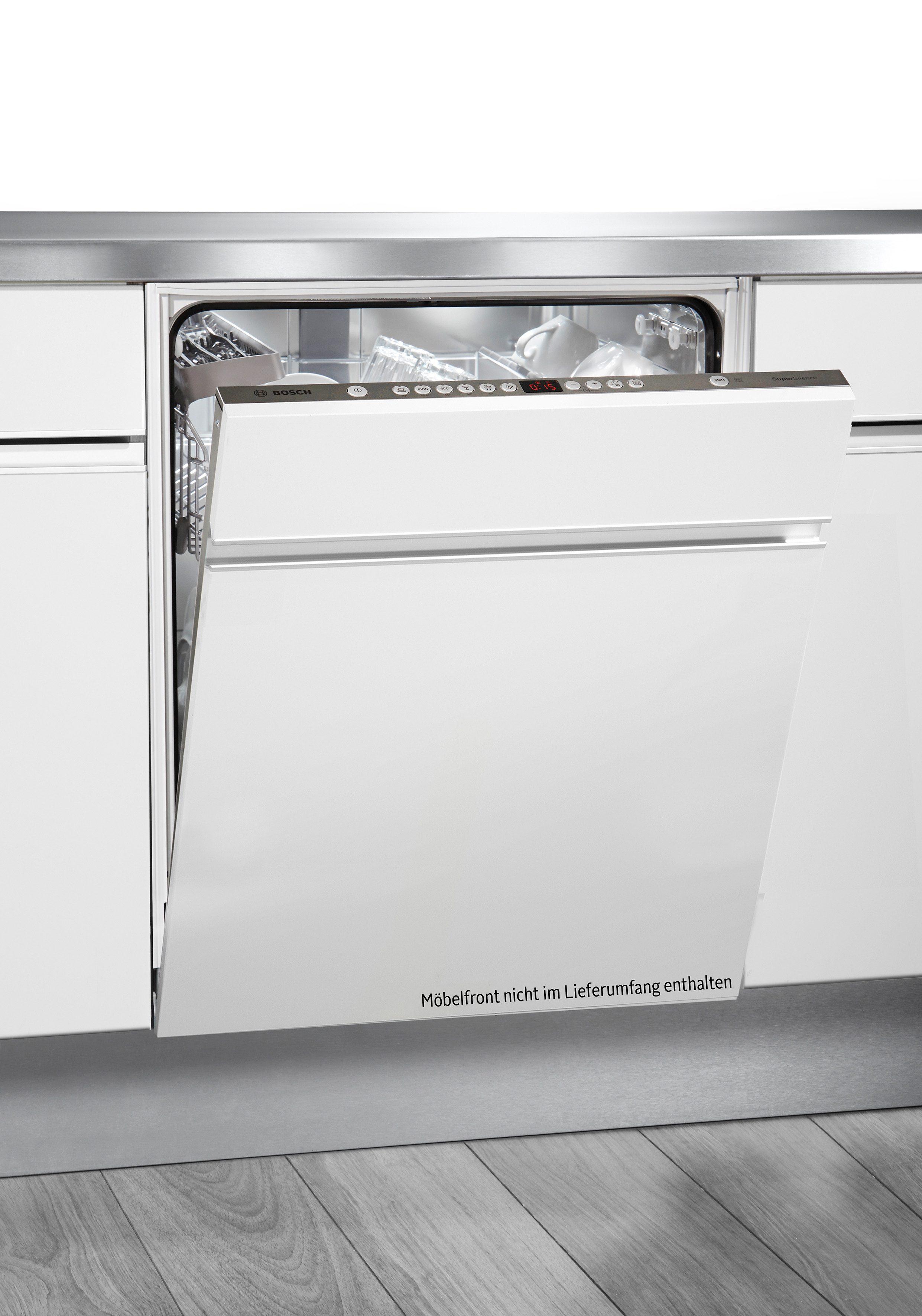 Bosch Vollintegrierbarer Einbau-Geschirrspüler SBV63N20EU, A++, 9,5 Liter, 13 Maßgedecke