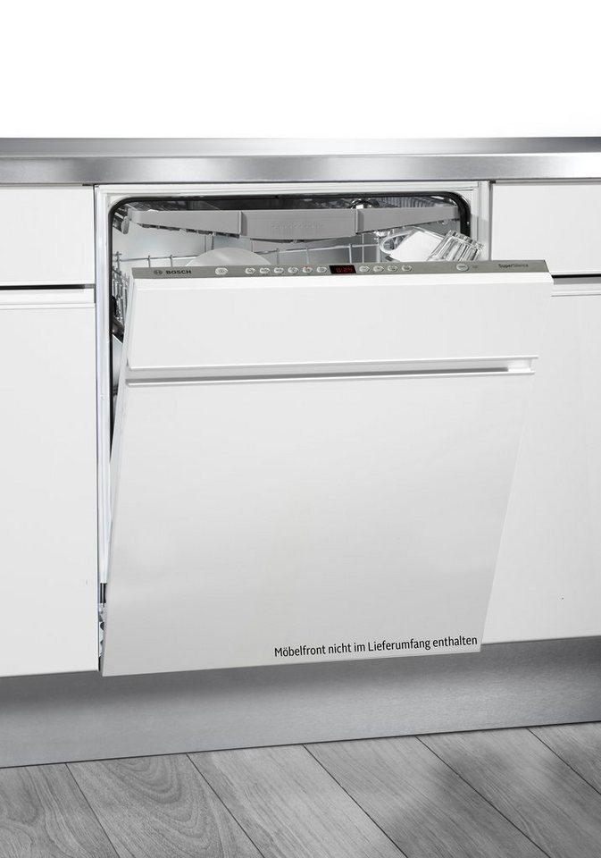 Bosch vollintegrierbarer Einbaugeschirrspüler SBV68N20EU, A++, 9,5 Liter, 14 Maßgedecke in weiß