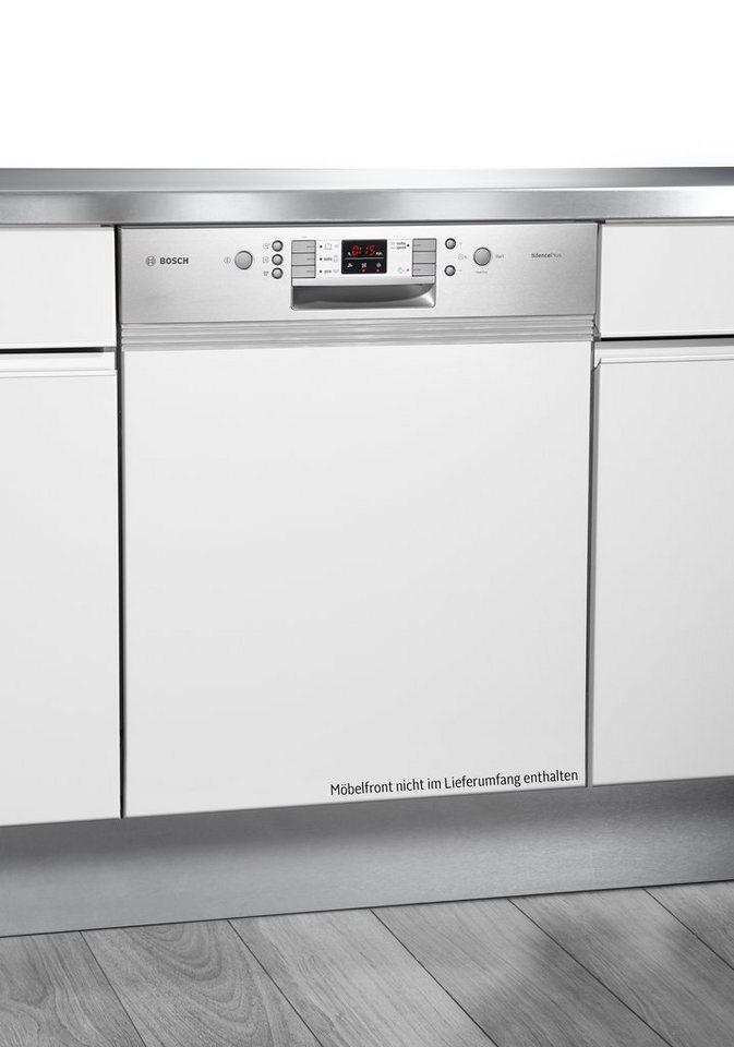 Bosch integrierbarer Einbaugeschirrspüler SMI53L65EU, A++, 7,5 Liter, 12 Maßgedecke in weiß