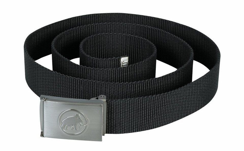 Mammut Gürtel »Logo Belt« in schwarz
