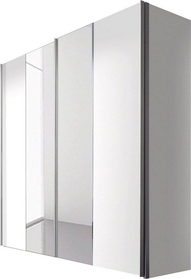Express Solutions Schwebetürenschrank in weiß