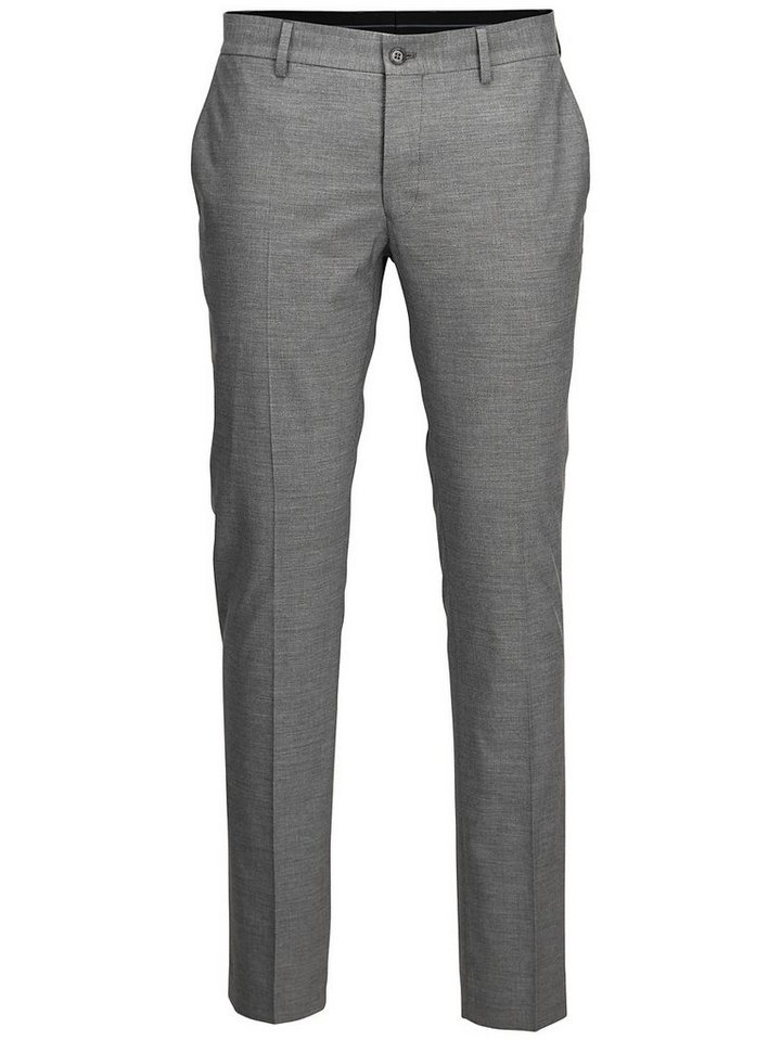 Selected Extra taillierte - Hosen in Light Grey Melange