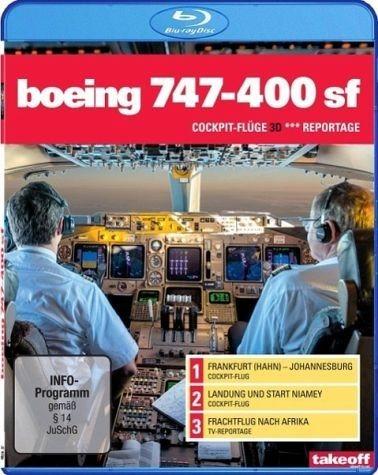 Blu-ray »Boeing 747-400 SF - Cockpit-Flüge (3D) /...«