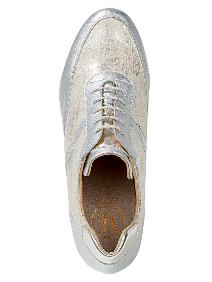 Heine Sneaker in silberfarben