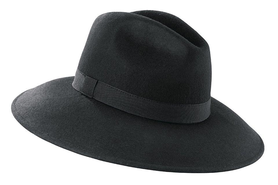 COLLEZIONE ALESSANDRO Hut von COLLEZIONE ALESSANDRO in schwarz