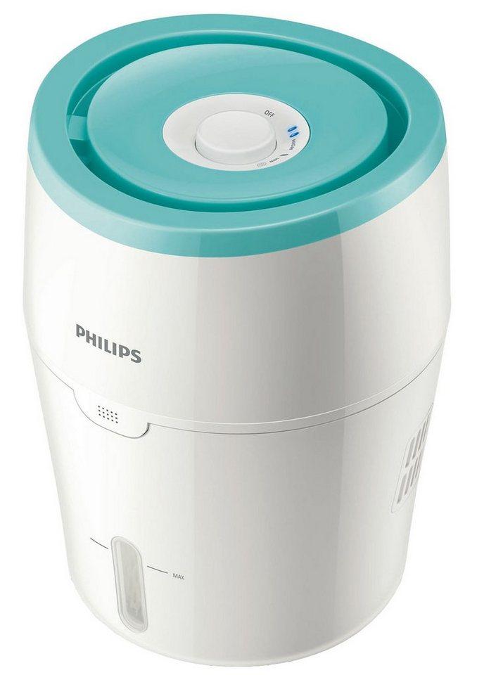 Philips Luftbefeuchter HU4801/01 für Babies und Kleinkinder in Weiß und Hellgrün