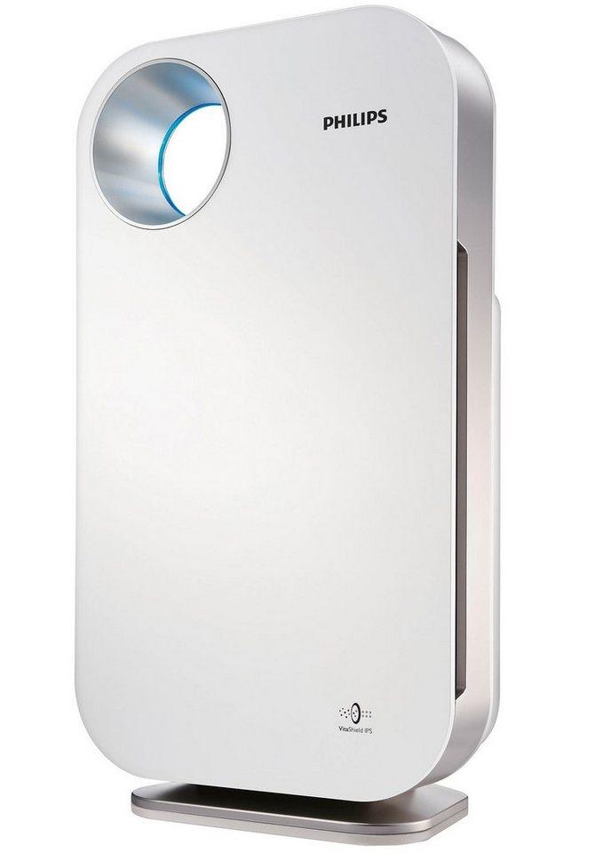 Philips Luftreiniger AC4072/11 mit hocheffizientem Filtersystem für Wohnung und Büro in weiß