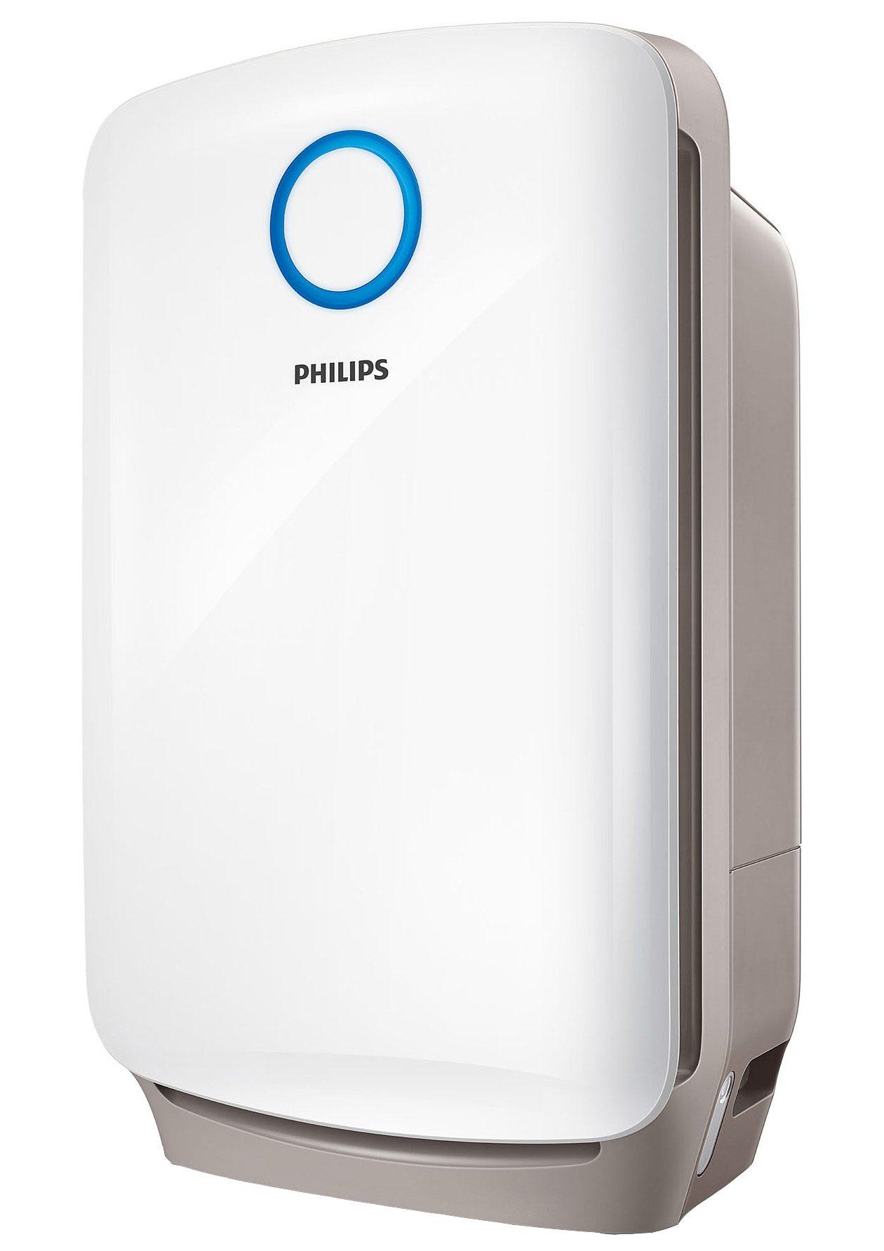 Philips Luftbefeuchter und Luftreiniger AC4080/10 2-in-1 Kombigerät für Büro und Wohnung