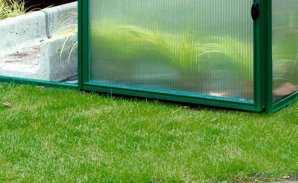 KGT Fundamentrahmen , BxL: 233x429 cm, , für Gewächshaus »RoseIV« in silberfarben