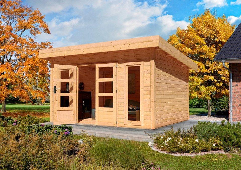 Gartenhaus »Rosenheim 4« (BxT: 369 x 309 cm) in natur