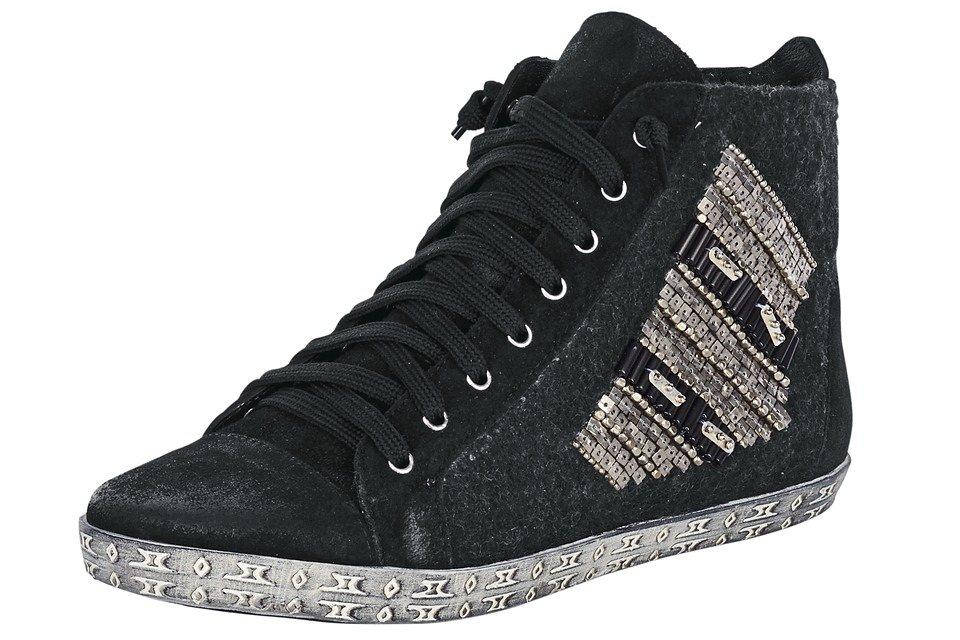 XYXYX Sneaker von XYXYX in schwarz/silberfarben