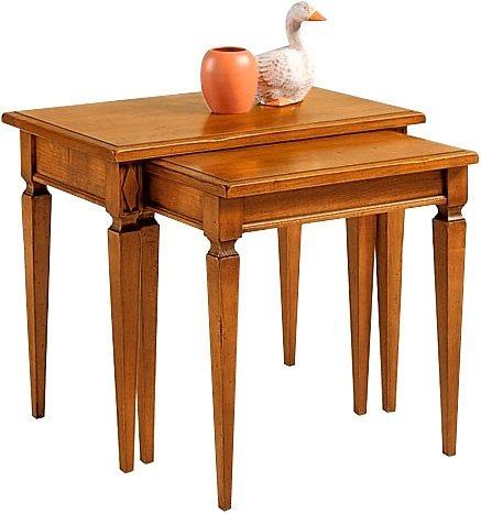 SELVA Zweisatztisch »Villa Borghese« Modell 3373 in kirschbaumfarbig