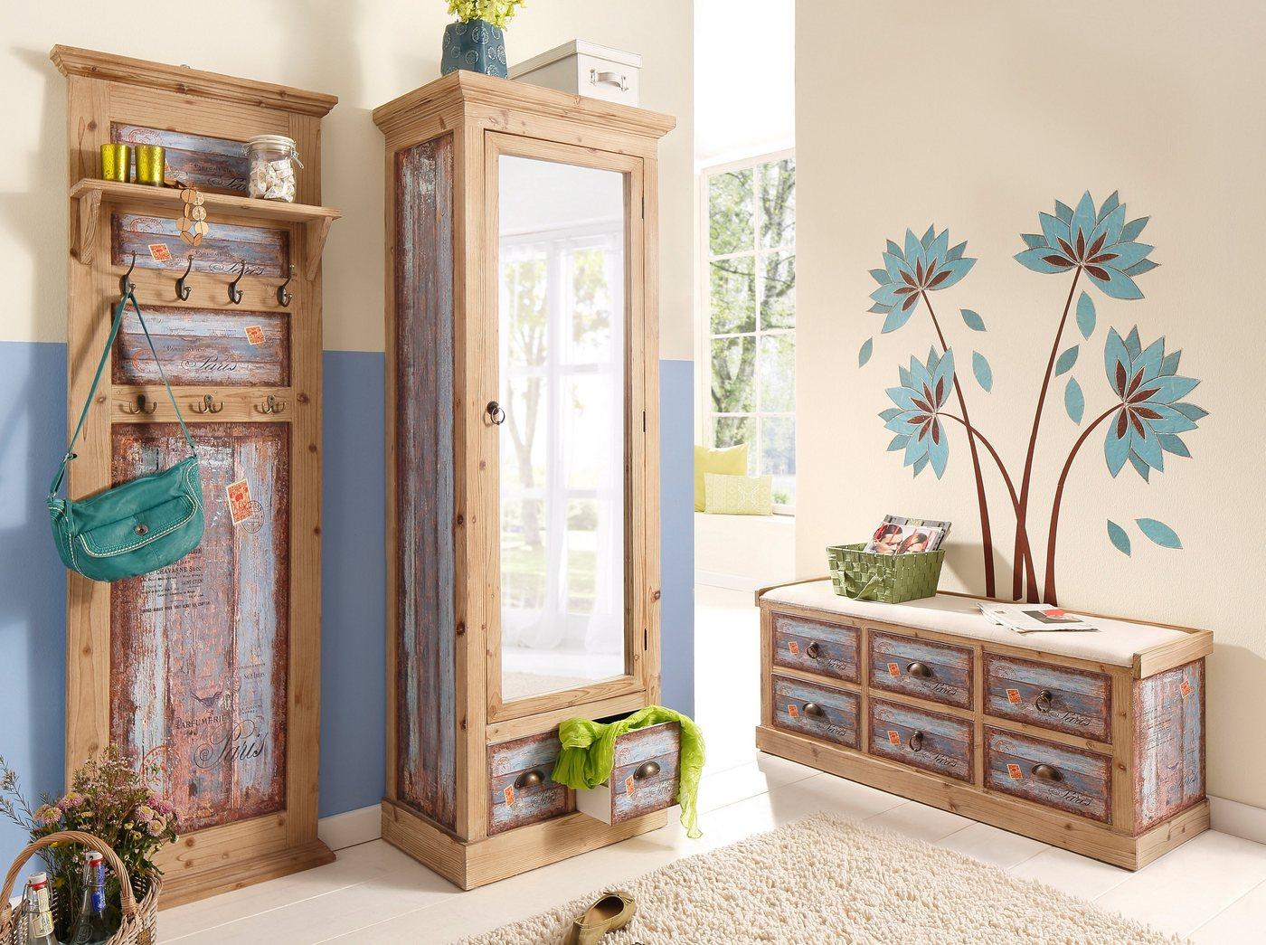 Garderobenleisten und Haken - Home affaire, Garderobe »Vintage«, in zwei Farben  - Onlineshop OTTO
