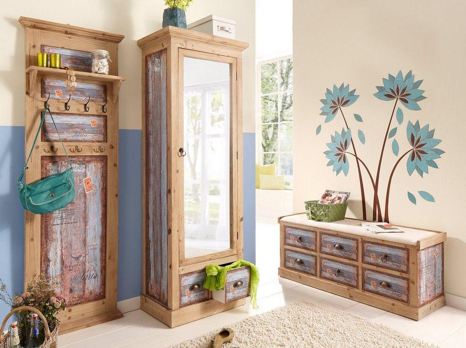 Home Affaire Garderobenpaneel Vintage In Zwei Farben Online Kaufen Otto