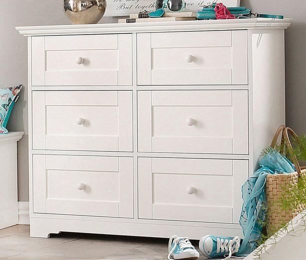 kommode home affaire lourdes online kaufen otto. Black Bedroom Furniture Sets. Home Design Ideas