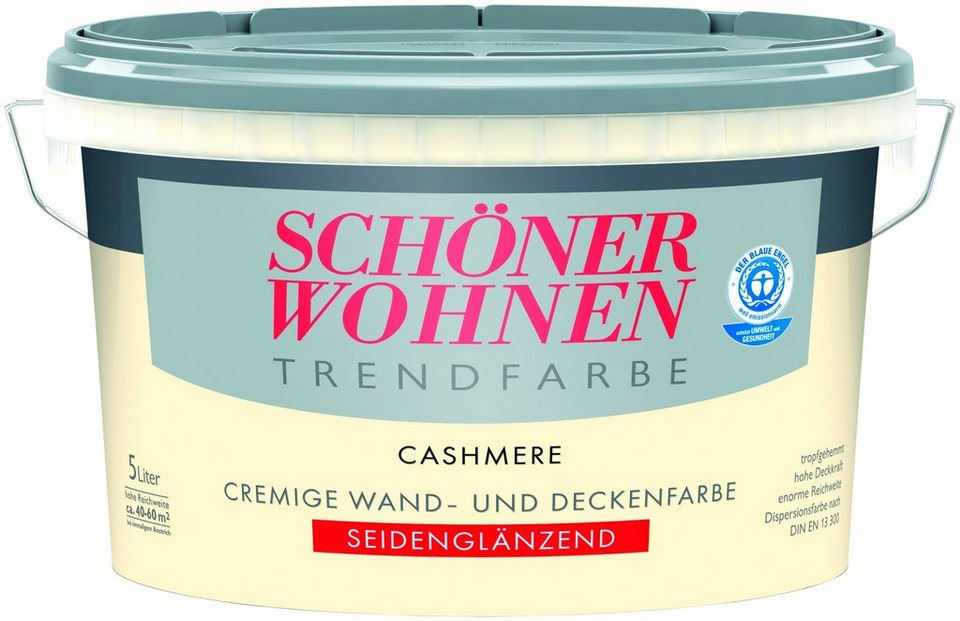 Trendfarbe »cashmere«, seidenglänzend in cashmere