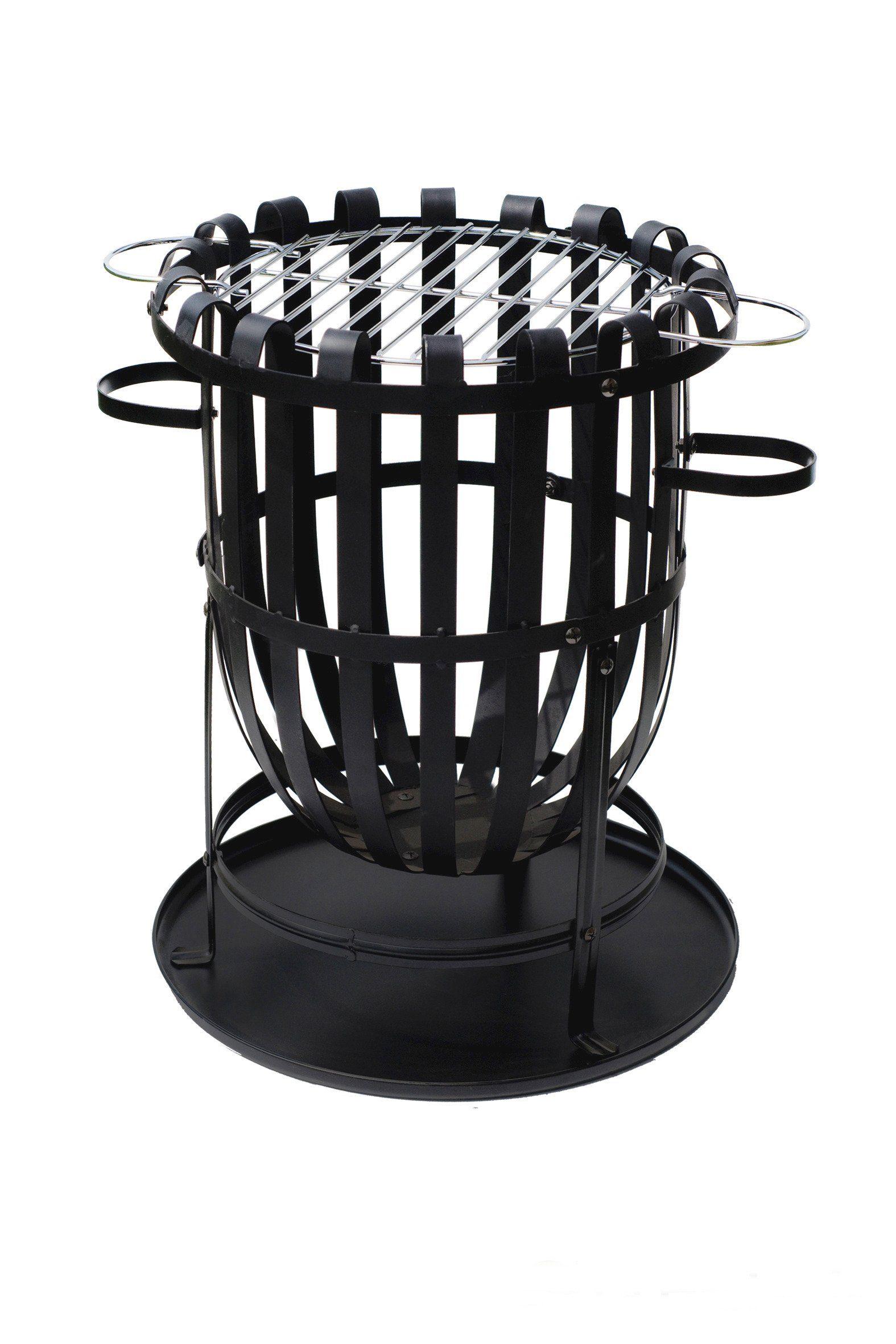 Feuerkorb »Barcelona«, Ø/H: 40/46 cm