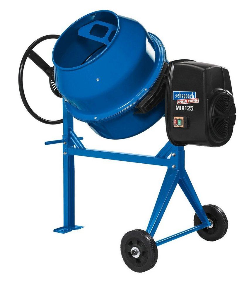 Scheppach Betonmischer »MIX125« in blau