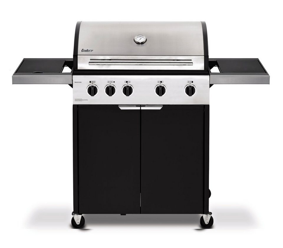 Gasgrill »Madison 4 K« in silberfarben