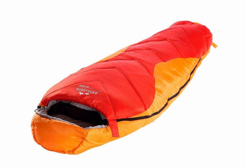 Mumienschlafsack »Starlite Junior« in rot