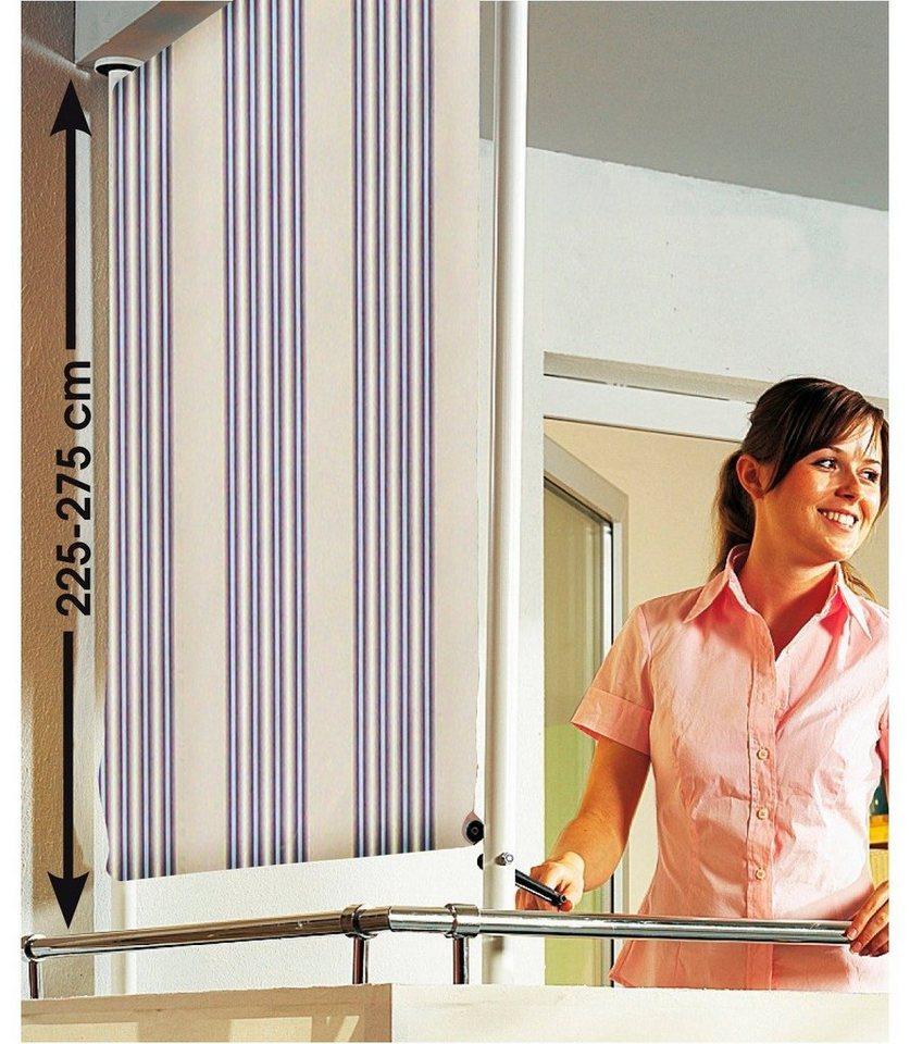 Balkonsichtschutz »Polyacryl, beige/braun« in 2 Breiten in beige-braun