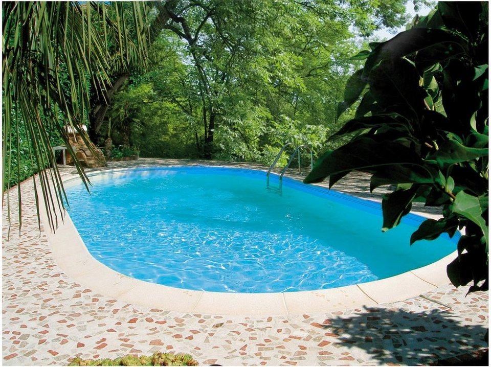 clear pool ovalpool tahiti komplettset 6 tlg 120 cm tiefe online kaufen otto. Black Bedroom Furniture Sets. Home Design Ideas