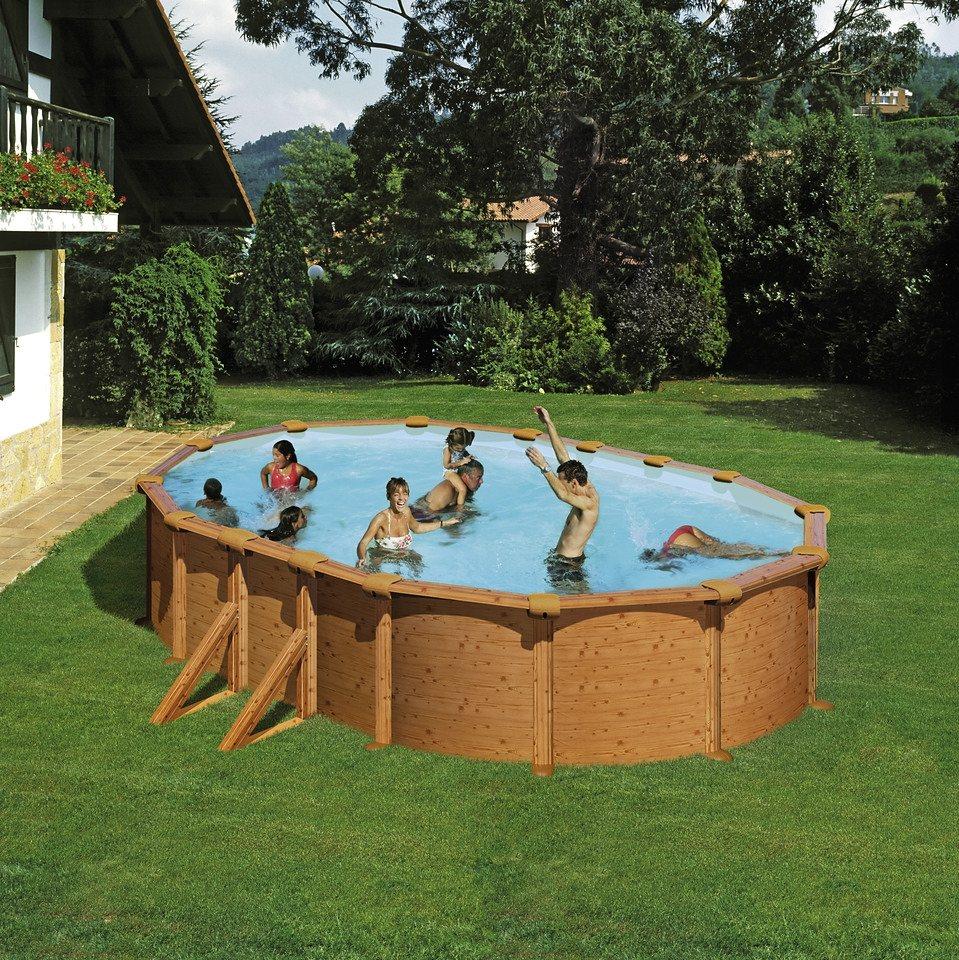 Summer Fun Set: Rundpool (6-tlg.) in weiß