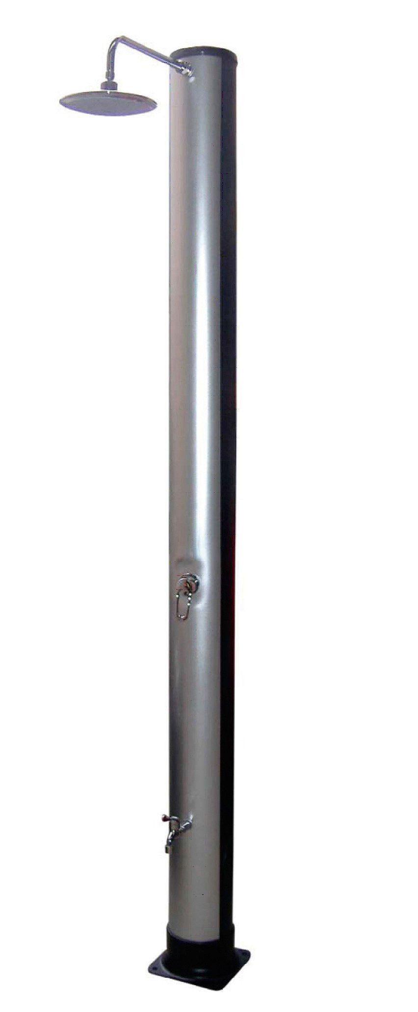 SUMMER FUN Solardusche »SilverDeLuxe«, 226 cm, silber