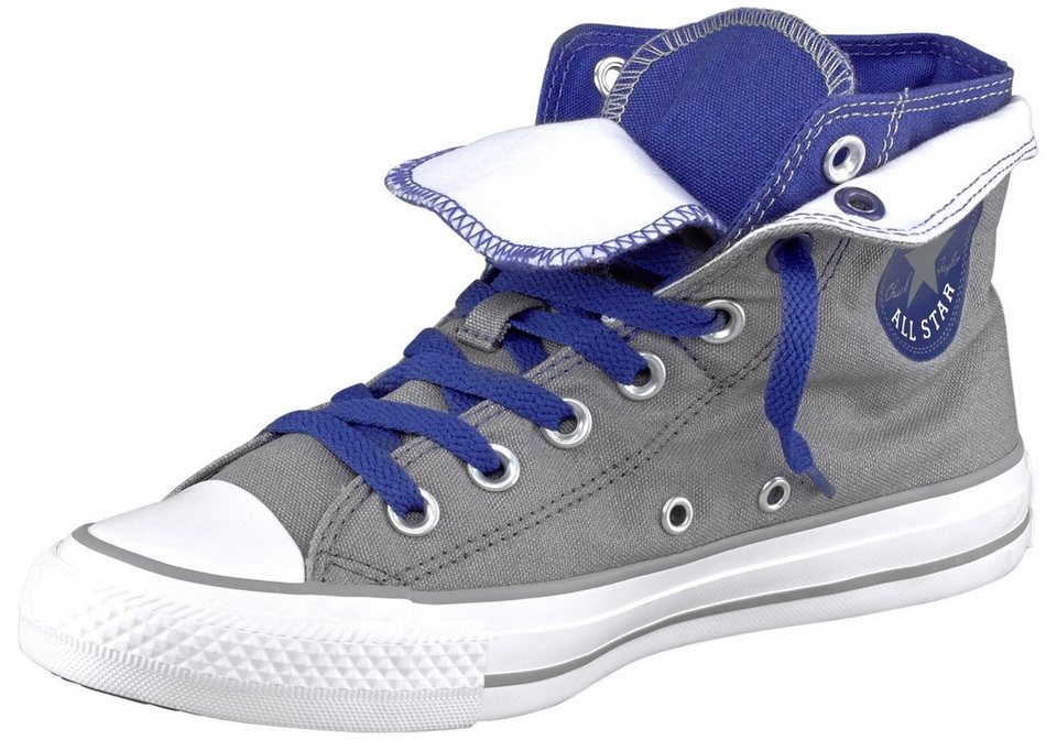 Converse Two Fold Sneaker in Grau-Lila