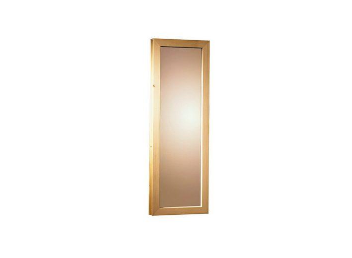 Saunafenster, für 40 mm Sauna, BxH: 42x185 cm