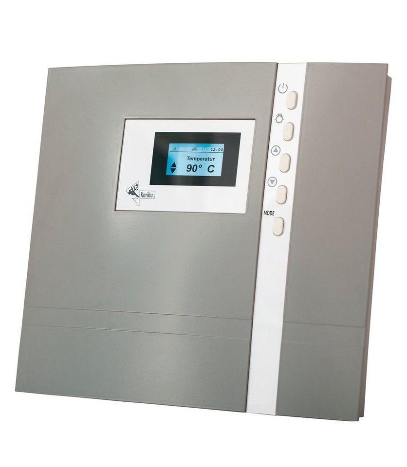 Sauna-Steuergerät »Premium Bio«, für Bio-Öfen, extern, 9 kW in grau