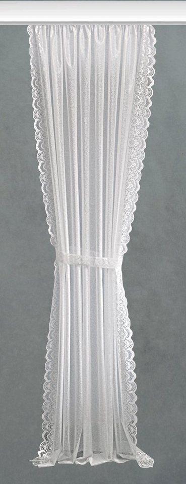 Raffgardine, Vhg, »Konstanz« (2 Stück) in weiß